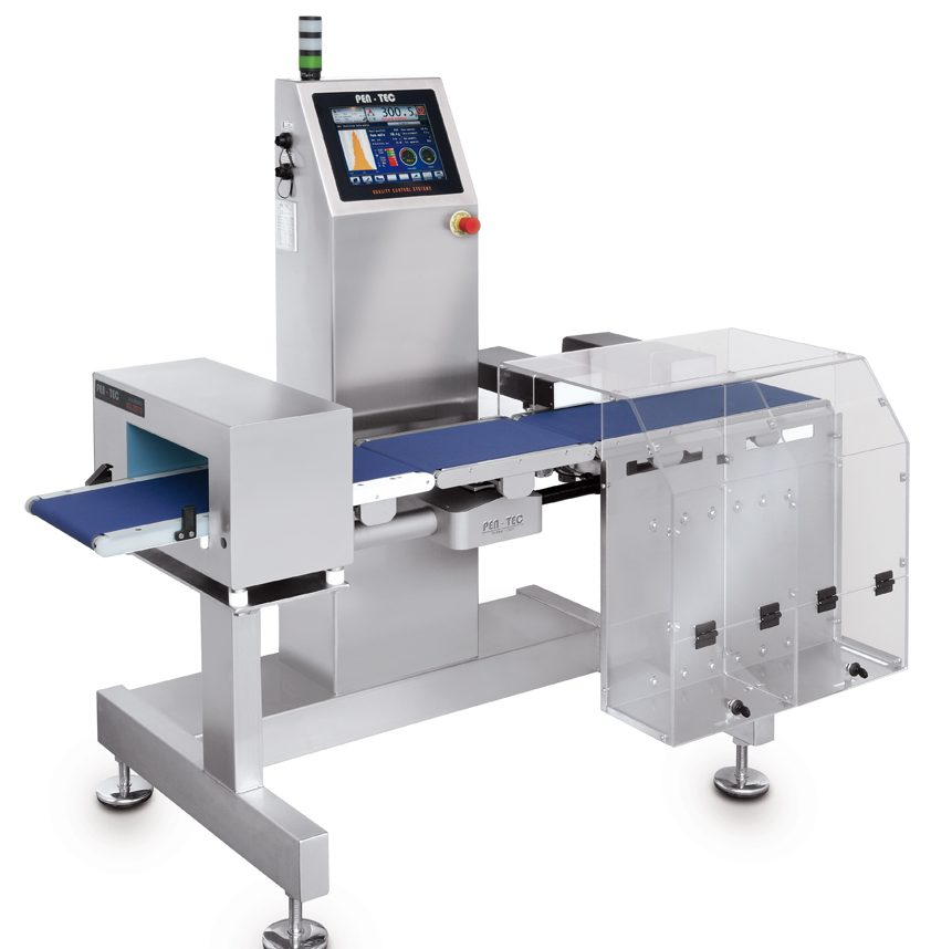 Combi Metal detector & Checkweigher