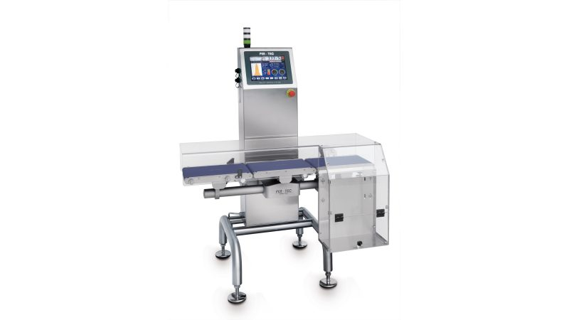 Checkweighers: control and optimization as a keystone for production lines