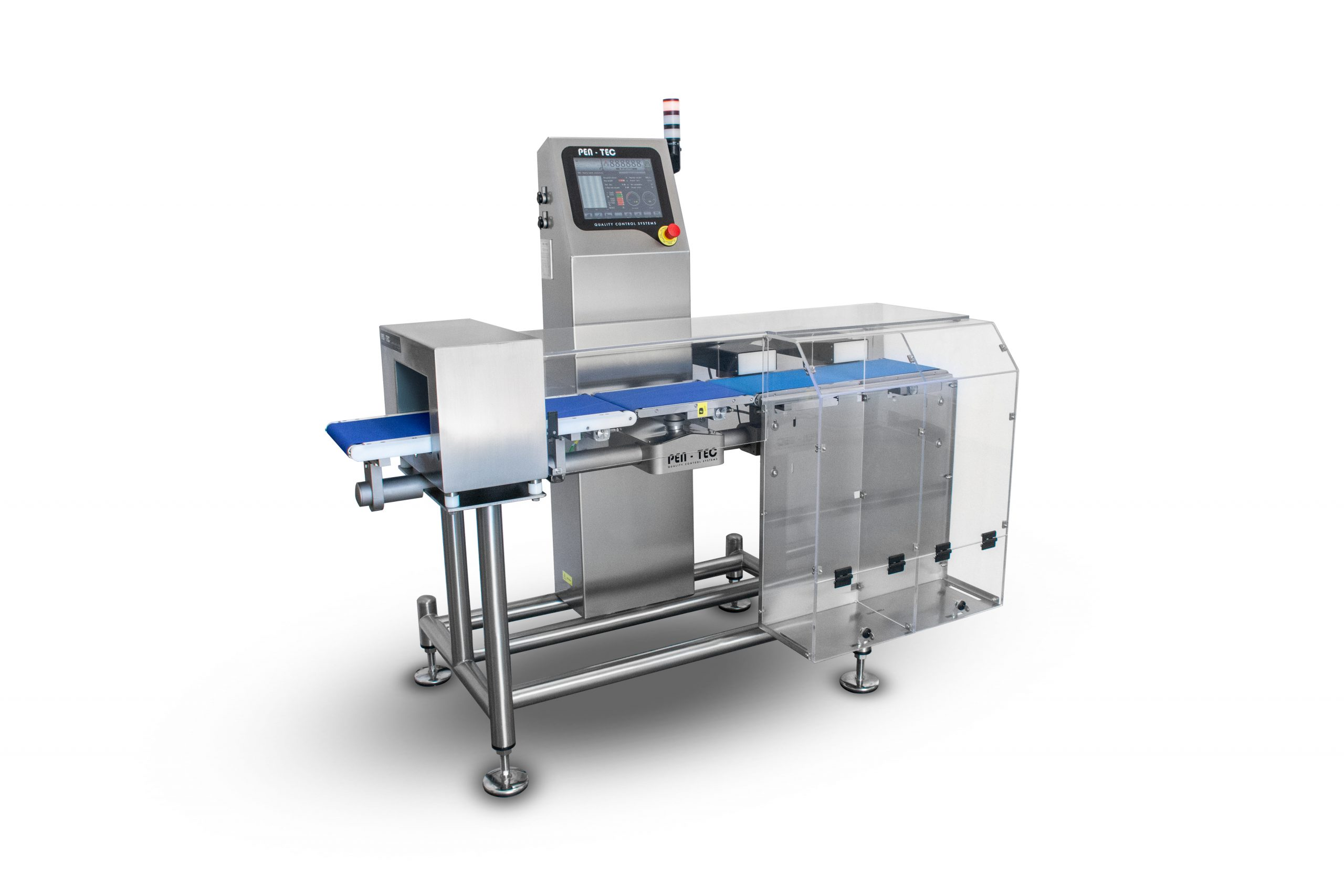 Integrated Metal Detector Checkweigher MSR1200C