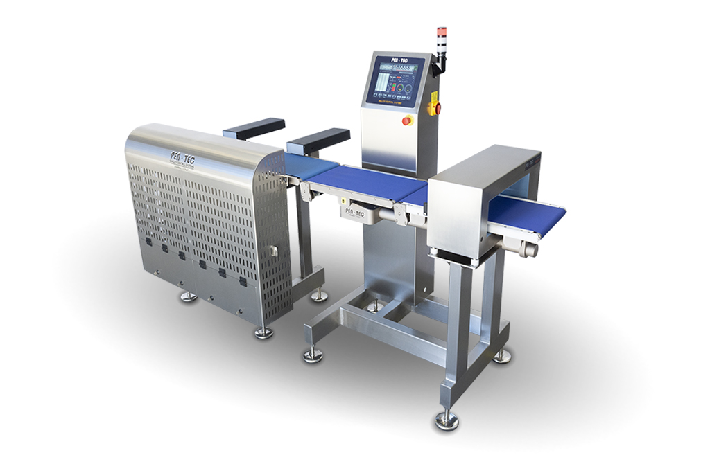 Integrated Metal Detector Checkweigher MAXI series
