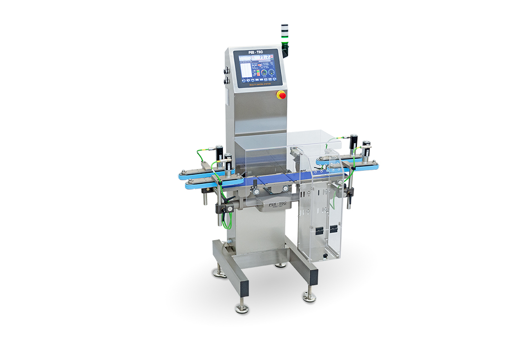 Checkweigher with side belts