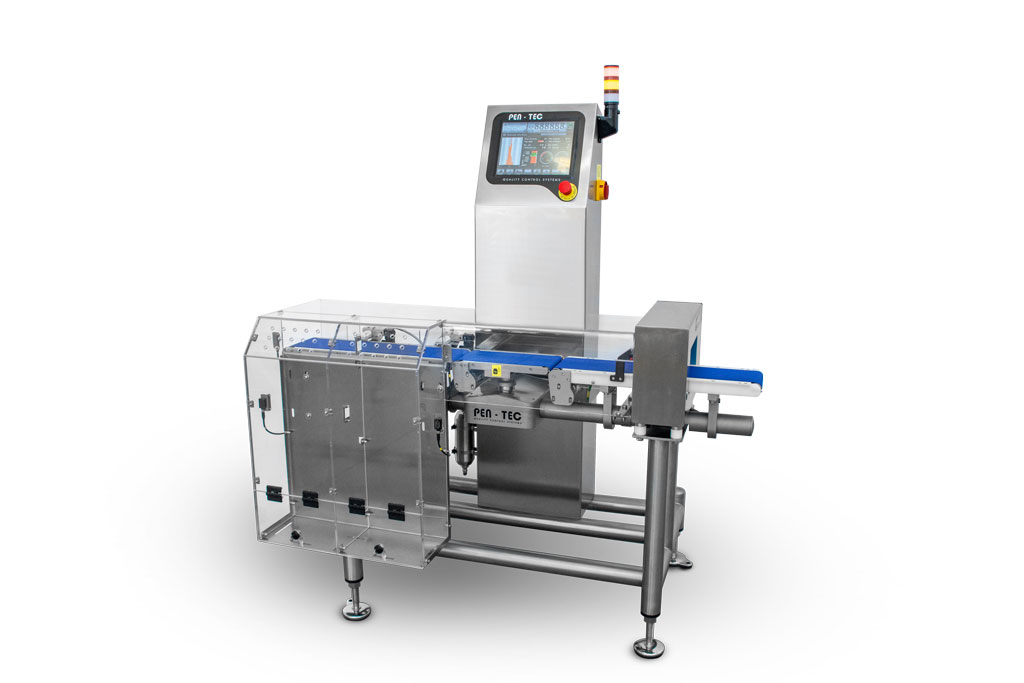 Integrated Metal Detector Checkweigher MHR600UC