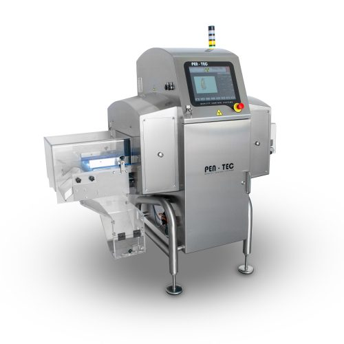 X-Ray inspection system for bulk product on belt