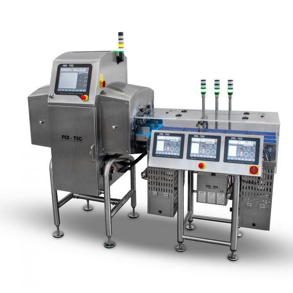 Triple lane X-Ray Checkweigher
