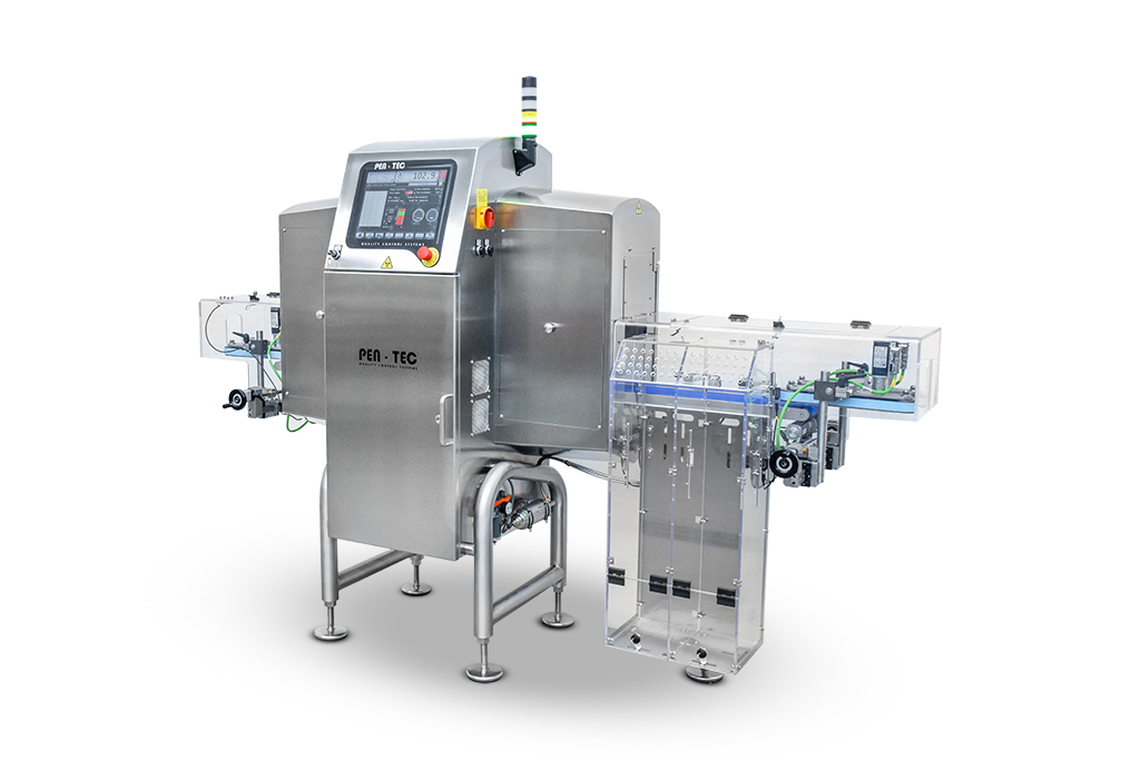 Integrated X Ray Inspection Checkweigher vertical products